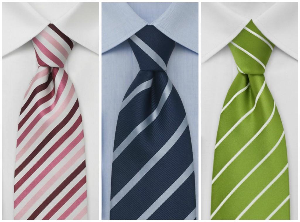 corbatas rayas