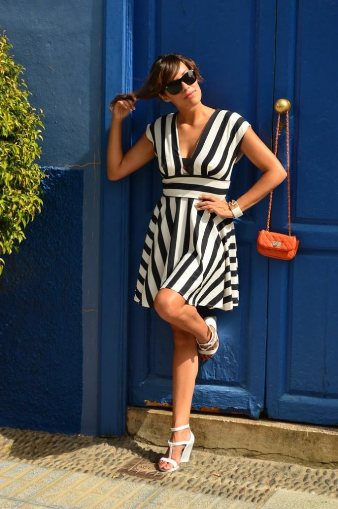 ook skater blanco negro vestido naranja blogger tenerife (11)