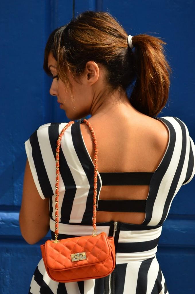 look skater blanco negro vestido naranja blogger tenerife (3)