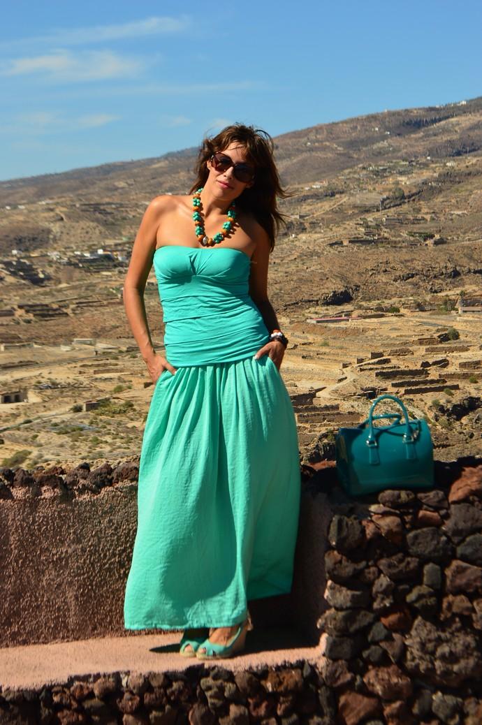 look total emerald maxi falda palabra etnico bershka mary paz  (6)