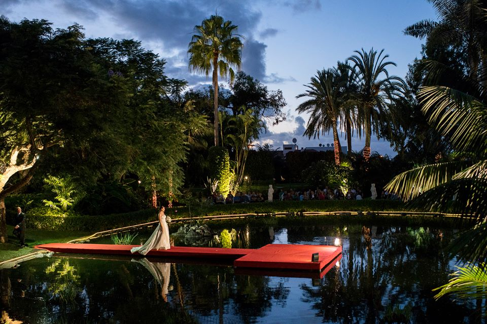 wedding glam hotel botanico