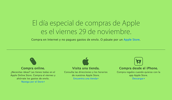 apple black friday españa
