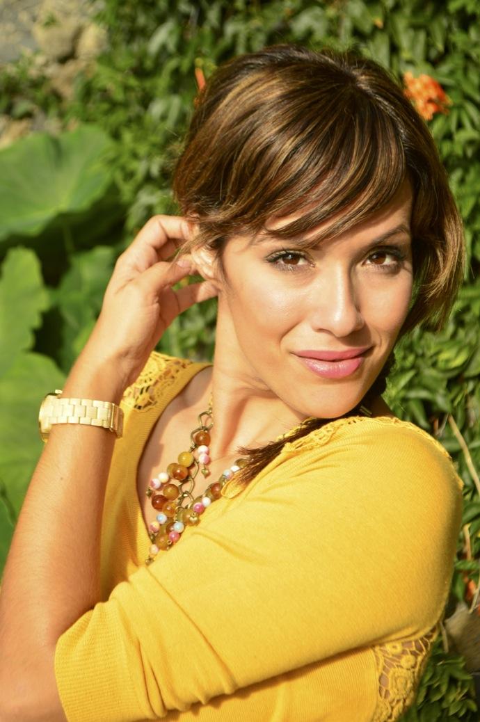 look falda cuadros amarillo jersey calado mostaza michael kors _0076