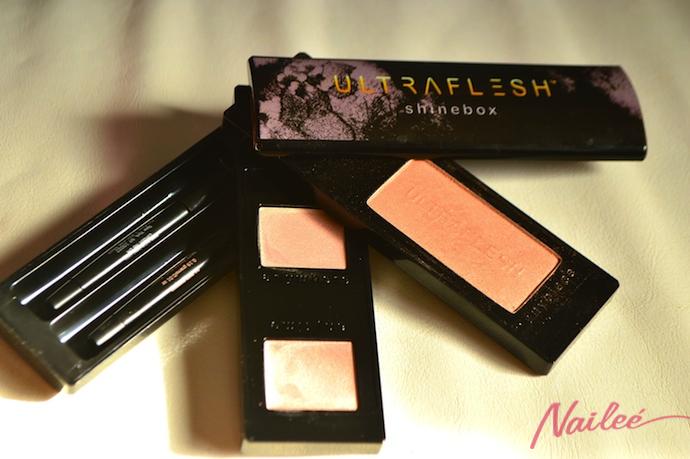 ultra flesh box look maquillaje naileechic ultraflesh ysl nyx bloody mary _0598