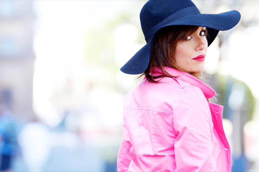 look pamela negra trech rosa chicle lady pura lopez 9474pr