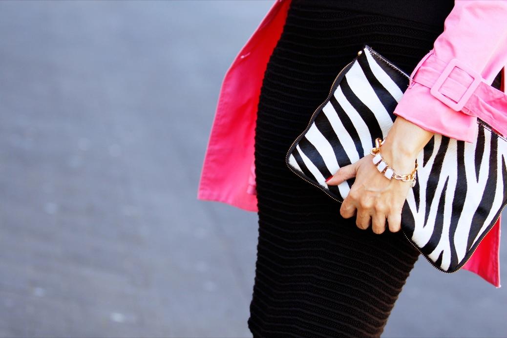 look pamela negra trech rosa chicle lady pura lopez 9493pr