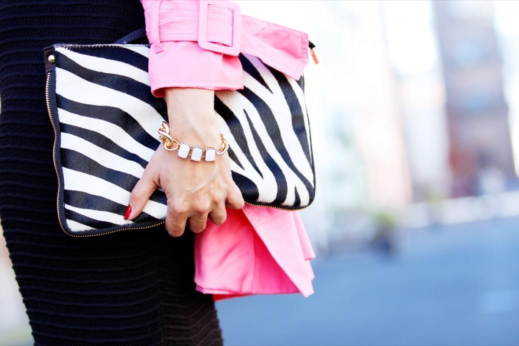 look pamela negra trech rosa chicle lady pura lopez 9495pr