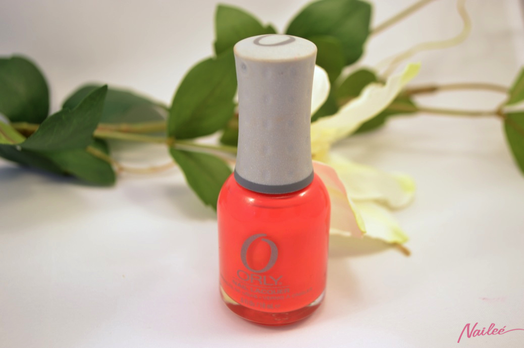 precisely poppy orly nail polish review swatches _0607