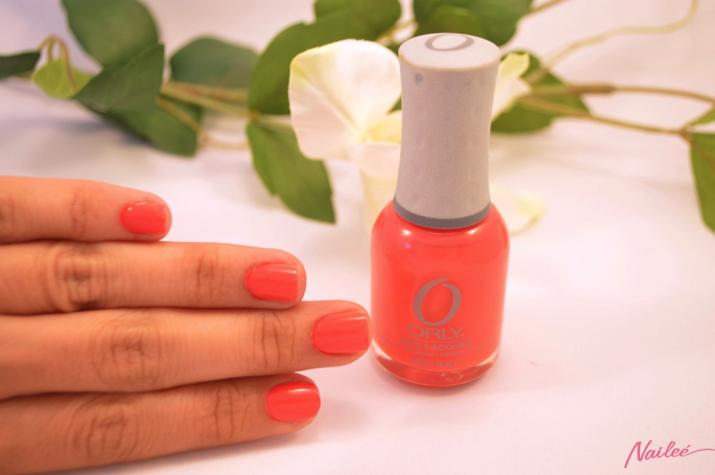 precisely poppy orly nail polish review swatches _0609