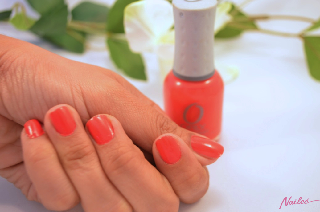 precisely poppy orly nail polish review swatches _0610