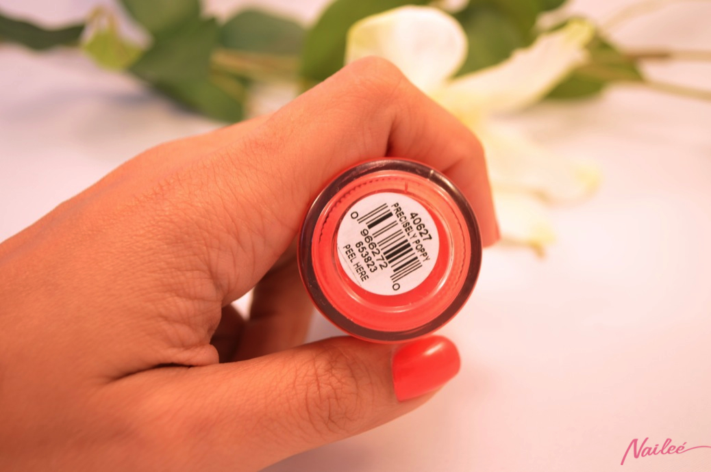 precisely poppy orly nail polish review swatches _0612