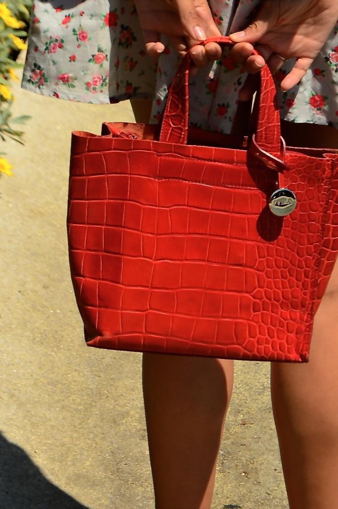 look vestido flores cardigan rojo hm mango 0807