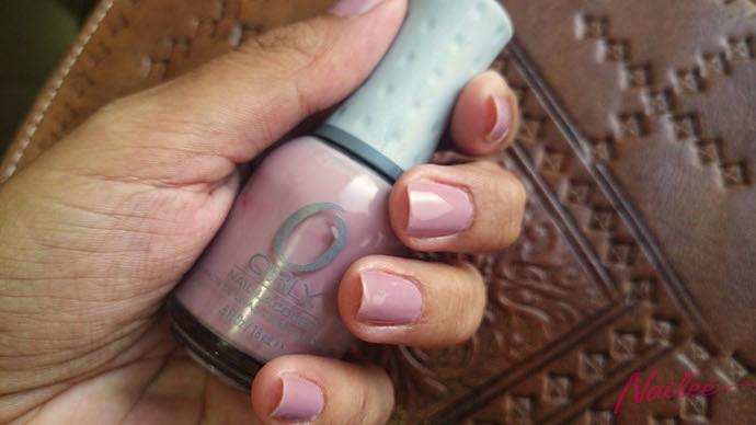 petit four orly lila nail polish c