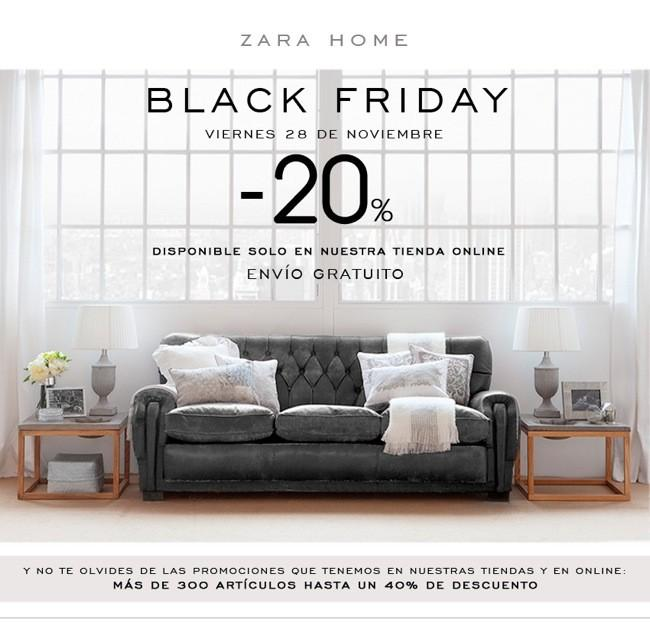 zara home black friday