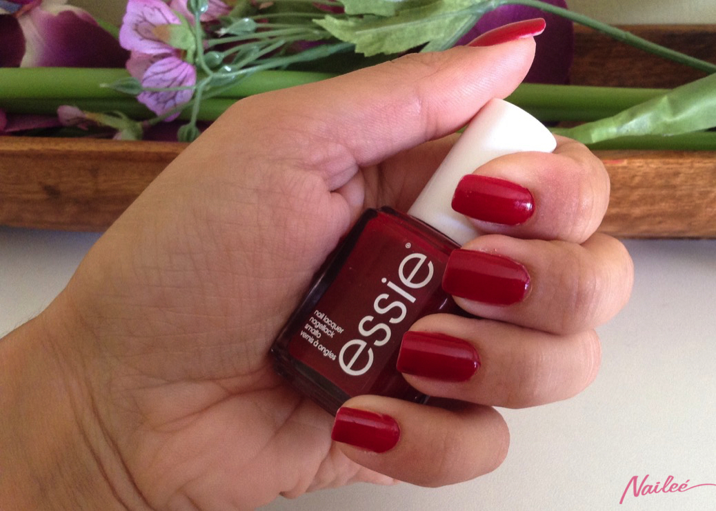 essie a list red review swatches nail polish _3144 copy