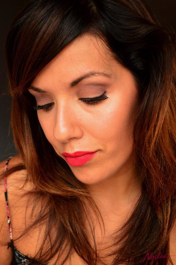 maquillaje red lips lorac pro 2 y dragon girl 0023 copy