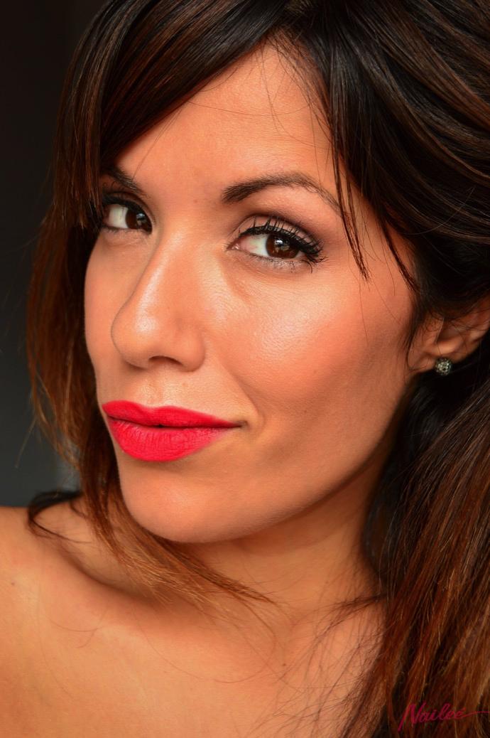 maquillaje red lips lorac pro 2 y dragon girl 0061 copy