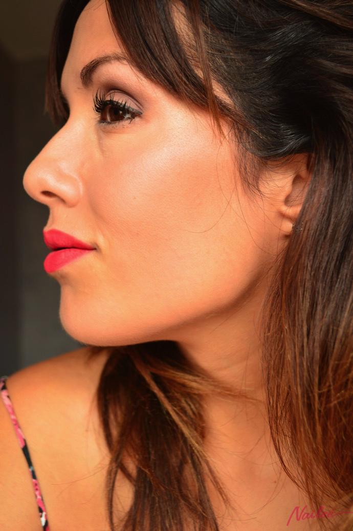 maquillaje red lips lorac pro 2 y dragon girl 0088 copy