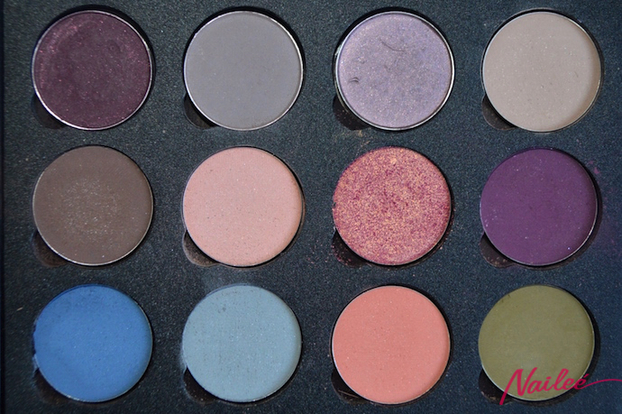 maquillaje ahumado azules paleta color hean  copy