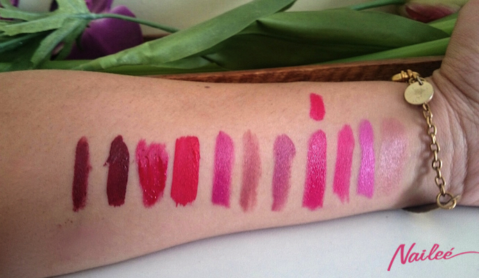 labiales invierno mac lime crime ysl  3 copy