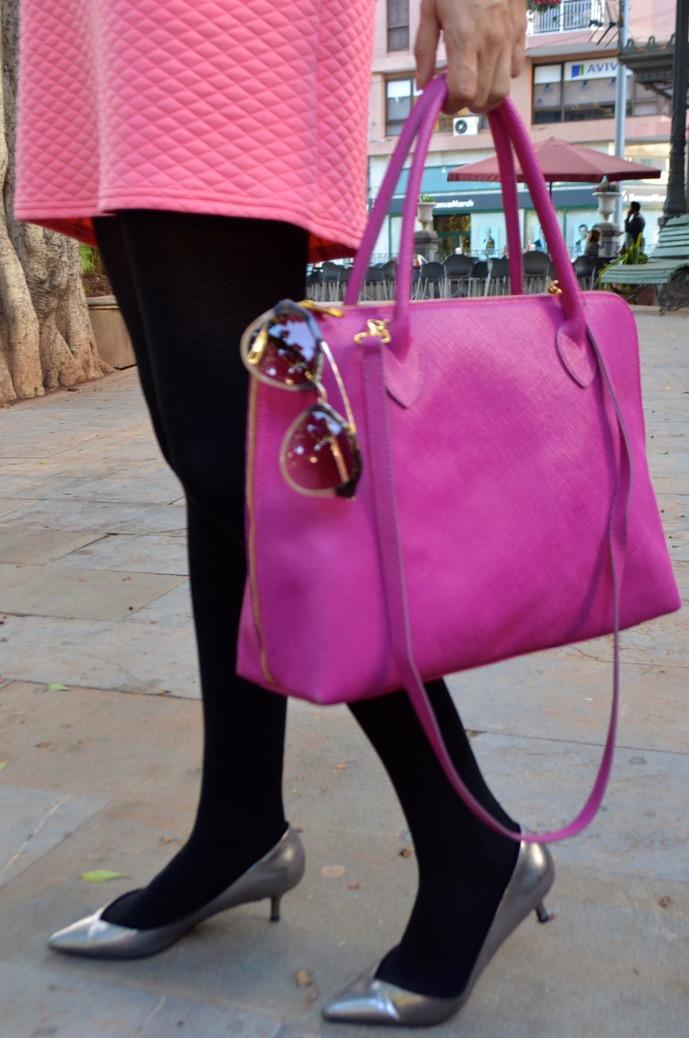 look barbie rosa 60 plata kitten heels 0050