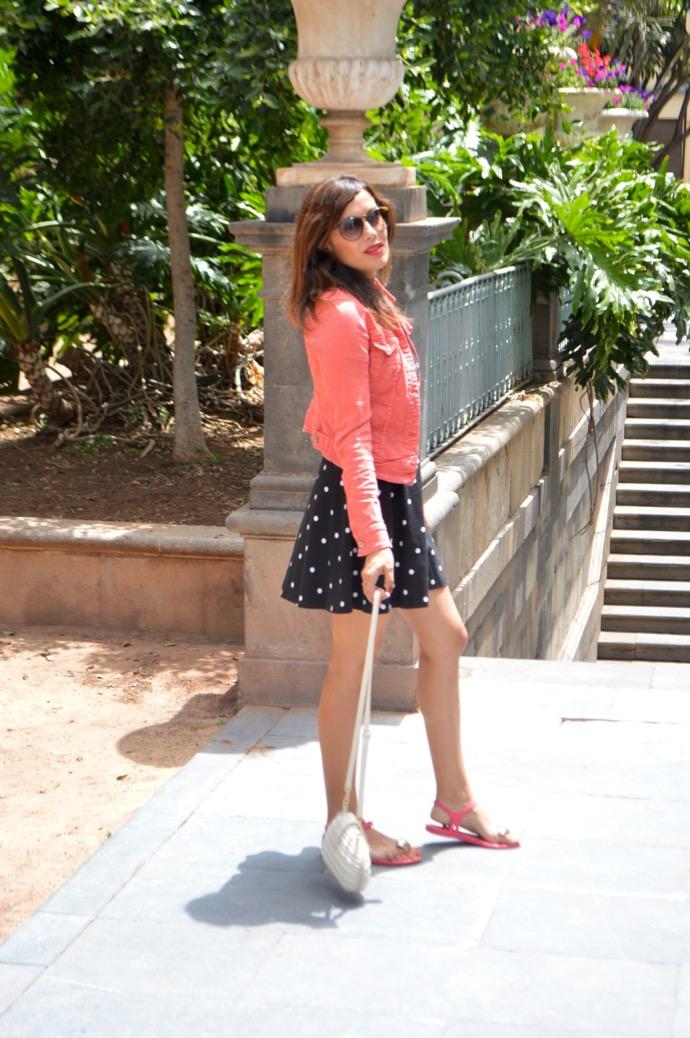 look vestido puntos denim rosa melissa corazon 0012
