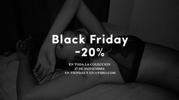 Oysho-Inditex-Blanco-Black-Friday