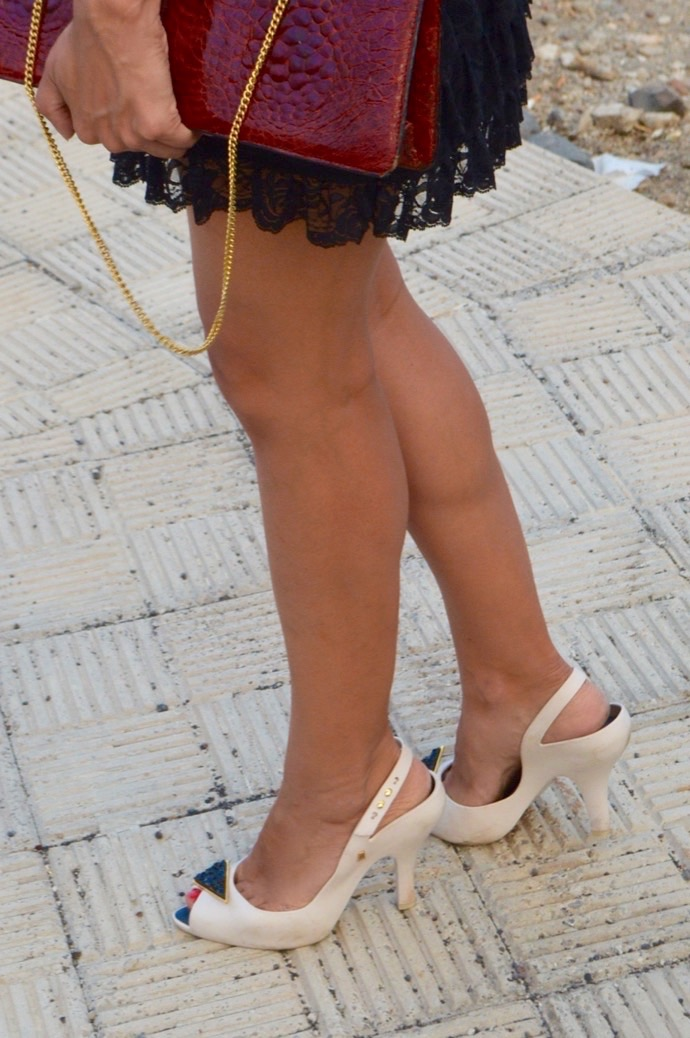 look falda encaje negra abercrombie mango piton 4