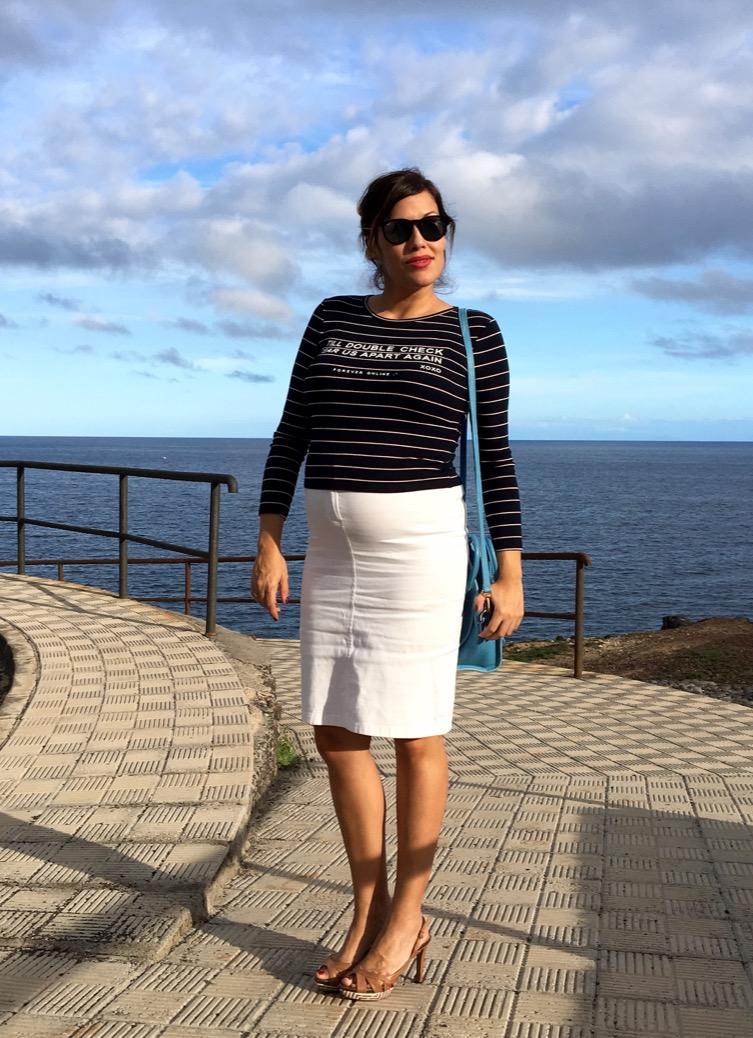 look falda blanca marinero invierno 0568