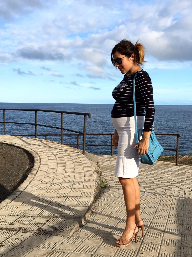 look falda blanca marinero invierno 0574