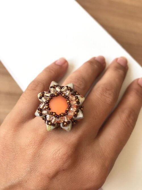 anillo-estrella-naranja-miss-fashionista MF